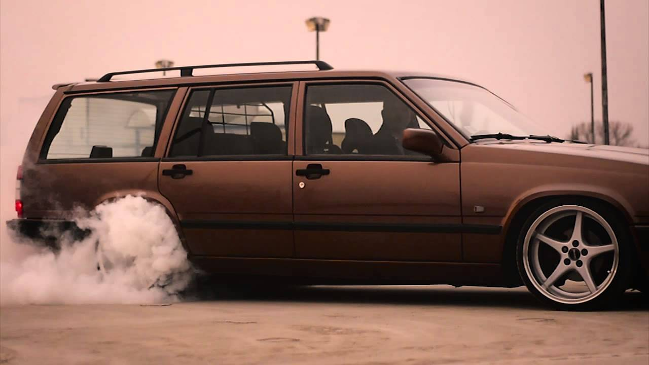 Volvo 945 940 turbo B230ft TB-58 Ocean MK18 Turbobrick redblock burnout swedishmetal stance ...
