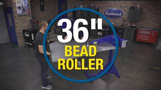 "36"" Bead Roller - Fabricate Floor Pans, Firewalls, Truck Bed Floors and SO MUCH MORE! Eastwood"