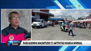 Gempa 7,1 M Guncang Maluku Utara, BNPB: 2 Orang Luka Ringan
