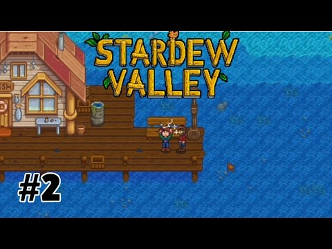 Our First Fishing Pole! || Let's Play Stardew Valley on Xbox One [2]