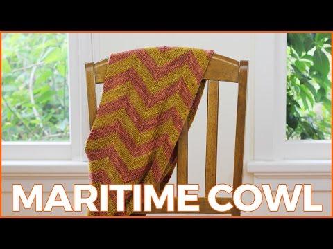 #HandKnit | Maritime Cowl | Knitting Podcast #15