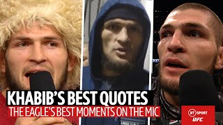 Khabib's best quotes! | Respect, Conor McGregor, and Liverpool