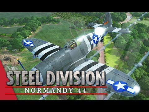 Recon Planes Aren't Useless! Steel Division: Normandy 44 Gameplay (Odon, 4v4)