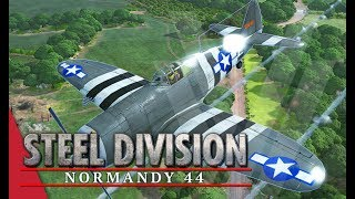Recon Planes Aren t Useless Steel Division Normandy 44 Gameplay Odon, 4v4