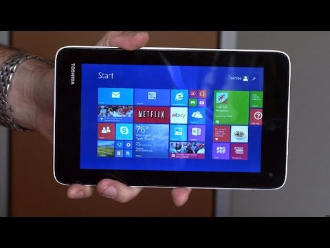 Toshiba's Encore Mini tablet surfaces for cheap