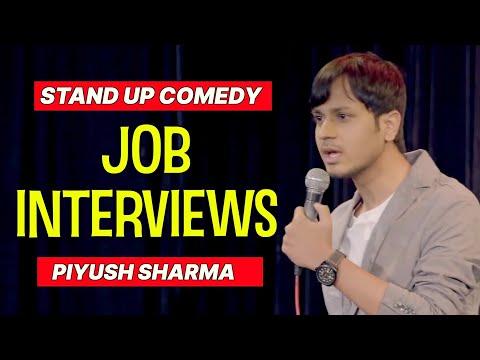 Job Interviews | Stand Up Comedy by Piyush Sharma