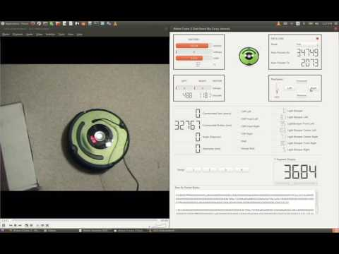 iRobot Roomba Create 2 Dashboard