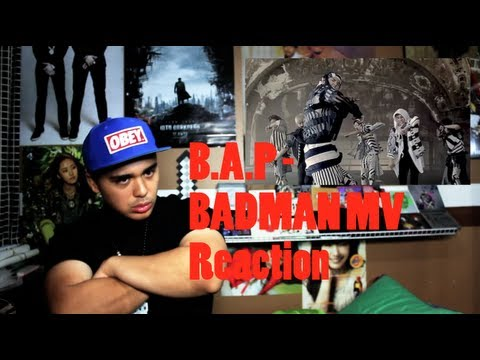 B.A.P - BADMAN MV Reaction