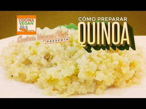 Cmo prepara la quinoa  Cocina Vegan Fcil  YouTube