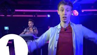 Aston Merrygold treadmill dancing