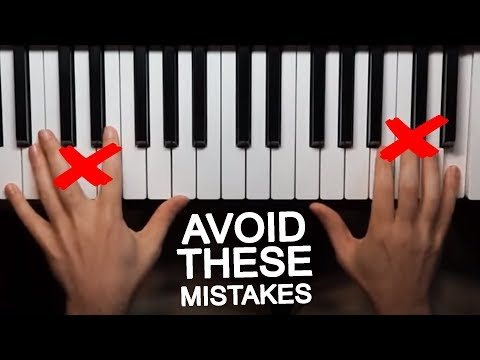 Common Mistakes You Must Avoid When Learning How To Play Piano