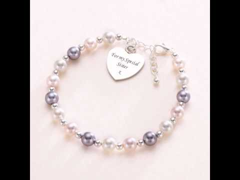Personalised Jewellery Gifts for Your Sister. UK.