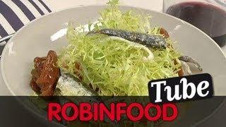 Robinfood / Gazpacho Andaluz + Ensalada + Limonada