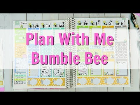 Plan With Me  Bumble Bee