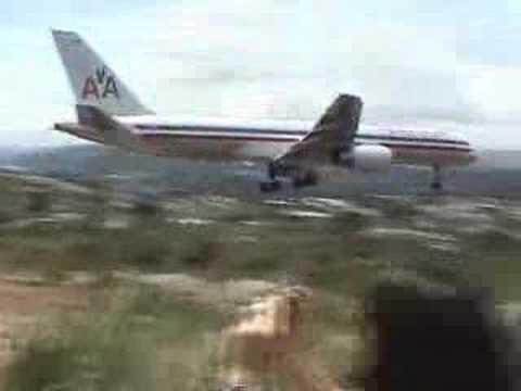 American Airlines scary landing Tegucigalpa Honduras TGU