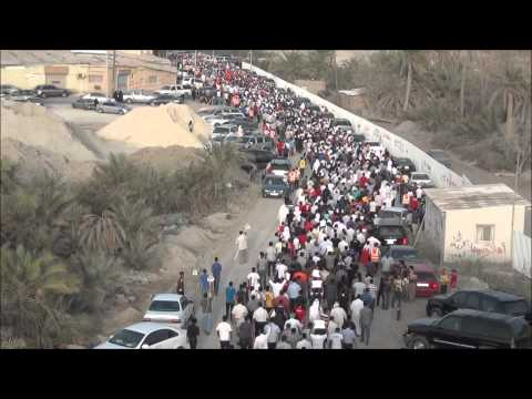 Bahrain | Tubli | The march of resistance and challenge 18/4/2012