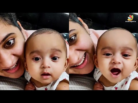 Miya George Sings for her Kid 🥰 | Vathikkalu Vellaripravu Song | #Shorts