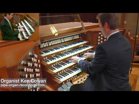 Leo Sowerby Pageant played by Ken Cowan on the pipe organ at St. Paul's Cathedral