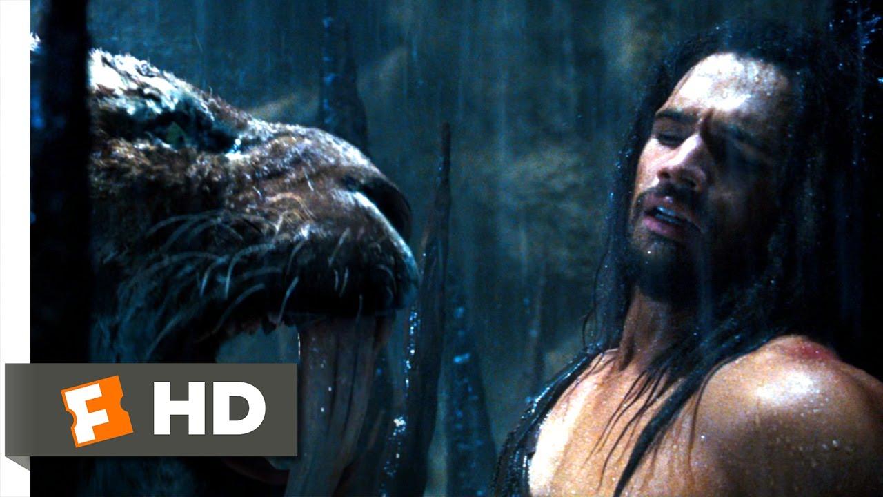 10,000 BC (4/10) Movie CLIP - The Sabretooth Tiger (2008) HD