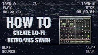 How to Create Retro '80s VHS Synth + Free Presets