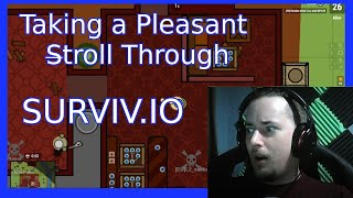 Surviv.IO - A PLEASNT STROLL + SECRET TIPS & GAME MODES