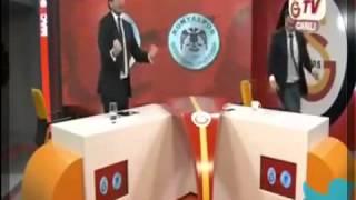 Galatasarayın Golünde Gs Tv Yıkıldı