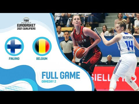 Finland V Belgium - Full Game  - FIBA Women's EuroBasket Qualifiers 2021