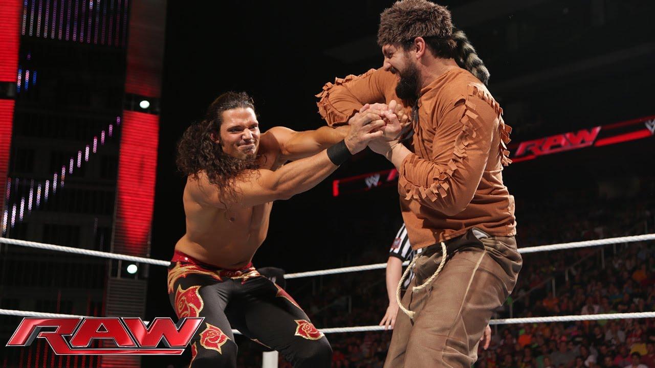 adam rose vs damien sandow raw may 26 2014 youtube