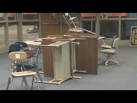 Books moved out of Summers County High School library, makes way for middle school students