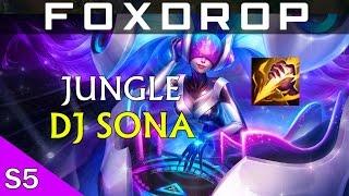 DJ SONA Jungle Gameplay - League of Legends