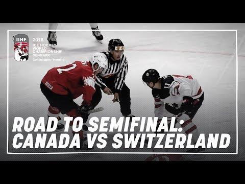 Road to the Semi-final: Canada vs Switzerland   #IIHFWorlds…