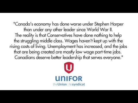 Fact-checking UNIFOR's anti-Harper radio ad