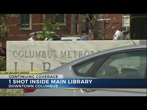 One person shot inside Columbus library