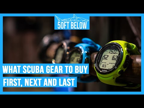 What Scuba Gear To Buy First | What To Buy First, Next And Last!