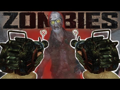 """DUAL WIELD RAY GUNS.. IN ZOMBIES !! """"Call of Duty: Black Ops Zombies"""" Gameplay"""