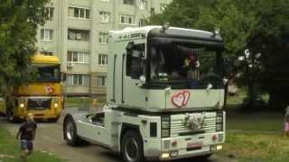 Чумачечая свадьба на грузовиках