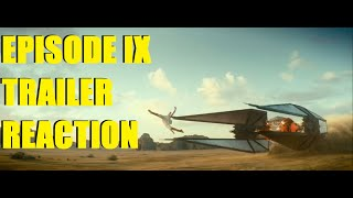 STAR WARS EPISODE IX TRAILER REACTION | THOUGHTS / BF2 LIVESTREAM!