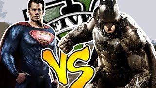 BATMAN Vs SUPERMAN - GTA V PC MOD