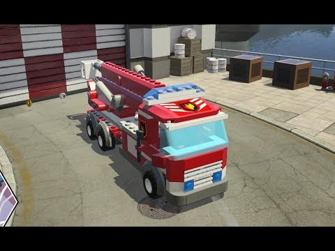 LEGO City Undercover (Nintendo Switch) - Fire Truck Driving