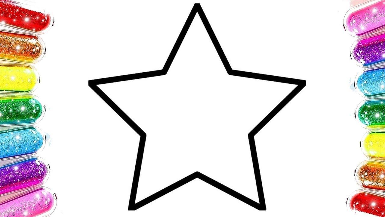 Star Coloring Yıldız Boyama Renkleri öğreniyorum Learn Colors Youtube