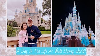 A DAY IN THE LIFE AT WALT DISNEY WORLD!   VLOG