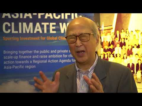Voices from Asia-Pacific Climate Week 2017: Junji Hatano