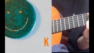 Mac DeMarco - K guitar tutorial/chords