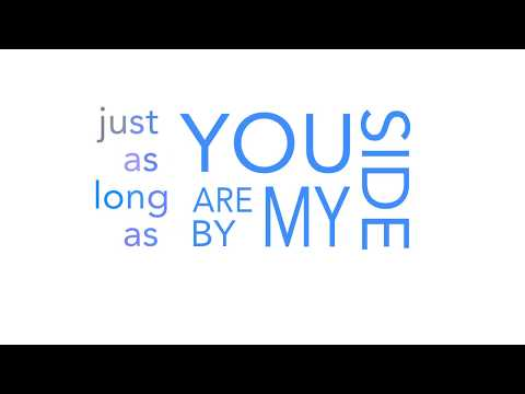 Anywhere with you is Home Typographic Video