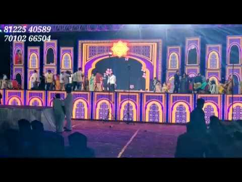 Royal Grand Wedding Marriage Reception Event Stage Decoration Chennai +91 81225 40589
