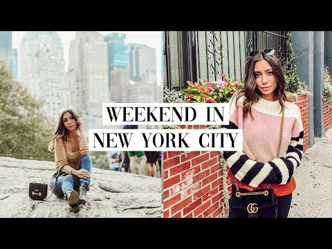 weekend in my life: new york city