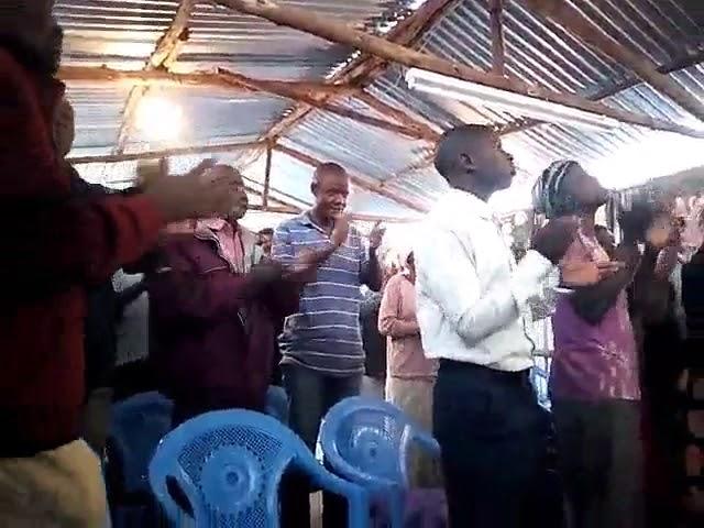 Worship in the Kibera Slum Kenya 8 26 2018