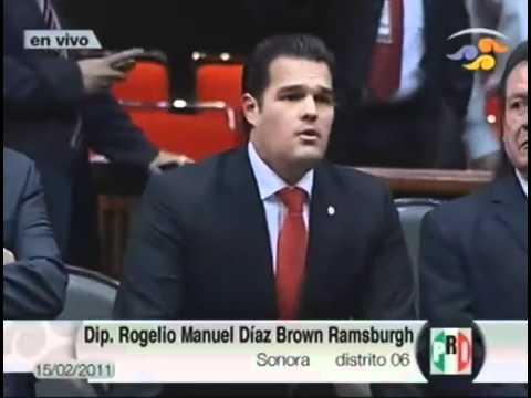 Diputado Rogelio Diaz Brown Cámara de Diputados 15...