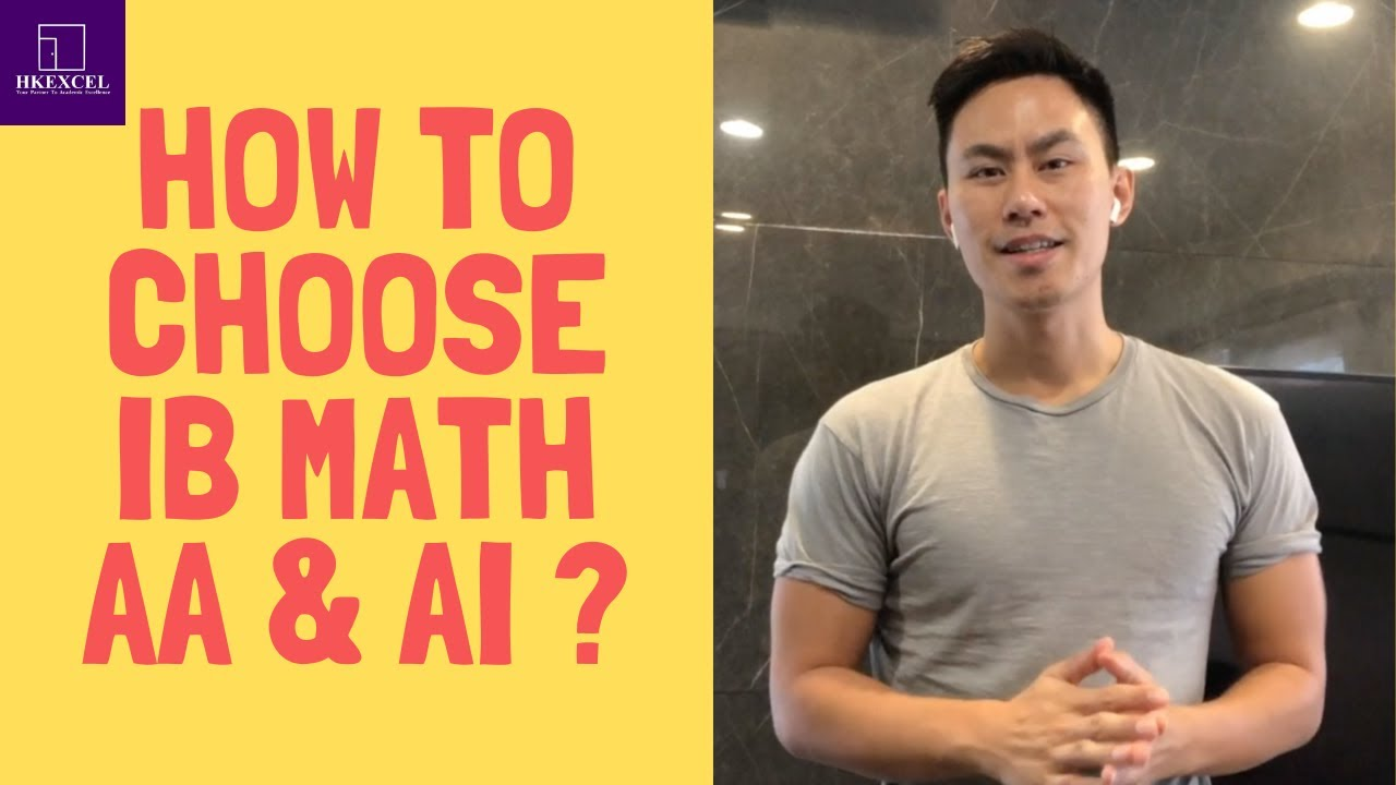 How to choose IB Math AA & AI? & How to revise to get 7 without past paper?(The IB Student Show)