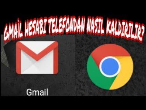 Gmail Hesabı Telefondan Nasıl Kaldırılır ? | Gmail Hesabından Nasıl Çıkış Yapılır ? (Mobil)